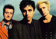 Mike Dirnt, Billie Joe & Tré Cool