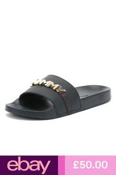 70b8bdcfe Tommy Hilfiger Women s Mery Slide Sandals - Blmfb 11M