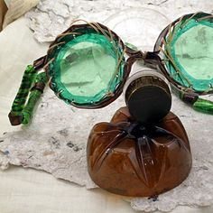 noid goggles Reincarnated junk in packagings accessories  with Plastic Necklace goggles