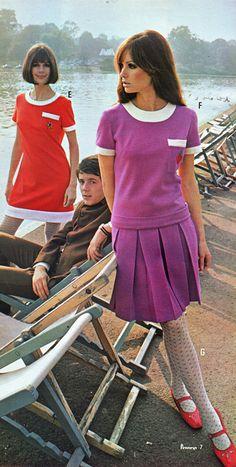 Pennies 67 ss quant 6 - Dresses for Women Vintage Outfits, Robes Vintage, 1960s Outfits, Vintage Dresses, 60s And 70s Fashion, Mod Fashion, Womens Fashion, Look Vintage, Vintage Mode