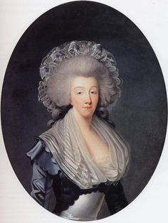Joseph Boze (1745-1826), Portrait de la Comtesse d'Artois, 1785