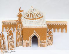 Gingerbread Mosque for Ramadan and Eid