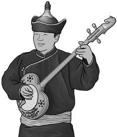 [ chanzy ] plucked string instrument.