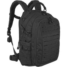 Mil-Tec Mission Pack Laser Cut Small Black | Backpacks & Rucksacks | Military 1st