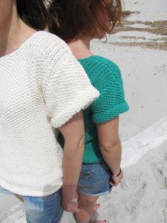 Lucette et Suzette: Nos petits pulls d'été by Phildar