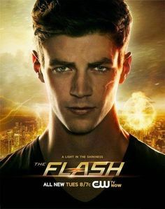another new #TheFlash promo poster , how amazing does @grantgust look?!