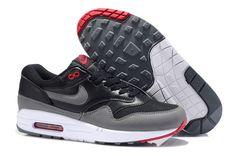 Nike Air Max 1 Essential (Men's) UK Black/Grey-Team Orange
