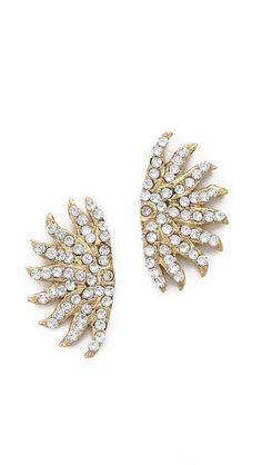 Lulu Frost Sunburst Stud Earrings