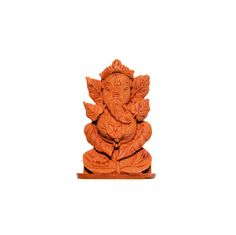 Vintage India Deva Ganesha Wood Collection Memorabilia