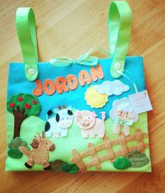 Porta pigiama da lettino fattoria, by dreamfairy, 25,00 € su misshobby.com