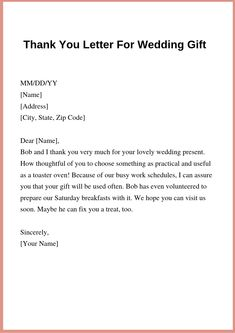 Thank You Letter For A Gift Received from i.pinimg.com