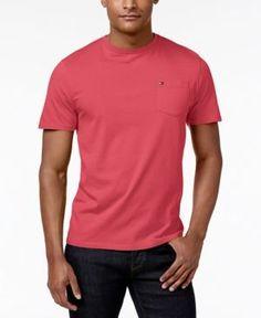 Tommy Hilfiger Men's Tommy Crew Neck Pocket Tee - Pink XXXL