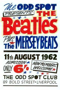 The Beatles Gig Poster Odd Spot Print Vintage Concert Memorabilia Gift Beatles Poster, The Beatles, Gig Poster, Beatles Photos, Print Poster, Tour Posters, Music Posters, Beatles Gifts, Vintage Concert Posters