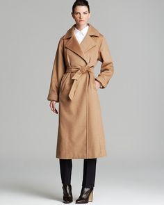 $2,590, Camel Coat: Max Mara Coat 3manuel. Sold by Bloomingdale's. Click for more info: http://lookastic.com/women/shop_items/134162/redirect
