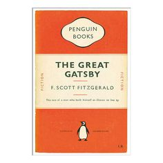 BuyPenguin Books - The Great Gatsby Unframed Print with Mount, 40 x 30cm Online at johnlewis.com