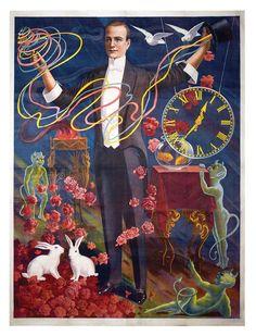 Vintage Stock Magic Poster.
