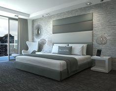 Modern Sleek Sophisticated Headboards  Blend Home Furnishings - Custom Build Furniture Check it out at www.blendhomefurnishings.com