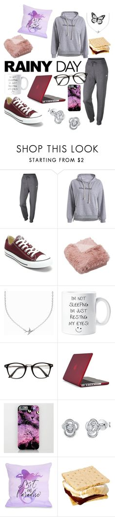 """""""Cozy on the couch"""" by jollypolly127 ❤ liked on Polyvore featuring NIKE, Converse, Minnie Grace, Speck, Jools by Jenny Brown and One Bella Casa"""
