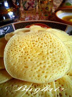 Baghrir ou crêpe à mille trous (0.5 pts ww)