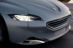 Peugeot SR1 Concept Headlight