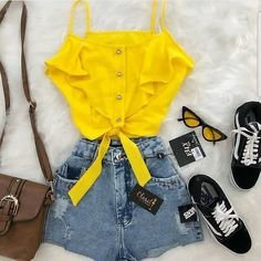 Best Sporty Outfits Part 9 Sporty Outfits, Cute Summer Outfits, Cute Casual Outfits, Spring Outfits, Casual Summer, Summer Dresses, Cute Fashion, Teen Fashion, Fashion Outfits