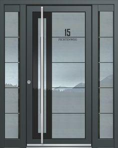 Inotherm Haustür Modell ASS 1829 Tür Mit Viel Glas Preis Auf Anfrage Bei  Www.1001