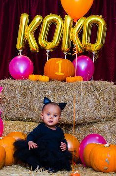 My little princess at her own 1st birthday party
