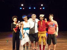 """No dia 17, às 14h, o espetáculo """"A Festa no Céu"""" realiza uma apresentação na Biblioteca Juracy Magalhães Jr, no Rio Vermelho, com entrada Catraca Livre."""