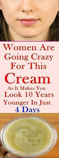 Are Going Crazy for This Cream as It Makes You Look 10 Years Younger in Just 4 Days!Women Are Going Crazy for This Cream as It Makes You Look 10 Years Younger in Just 4 Days! Younger Looking Skin, Look Younger, Younger Skin, Home Remedies, Natural Remedies, Prevent Wrinkles, Tips Belleza, C'est Bon, Glowing Skin