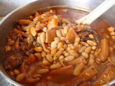 Feijoada de choco - Portuguese beans with cuttlefish Recipe. www.portugaldreamcoast.com