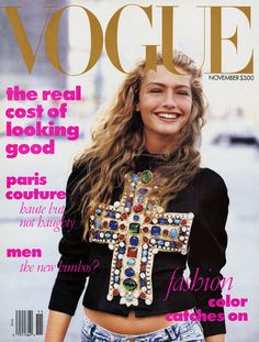 Anna Wintour's first Vogue cover & my obsession began