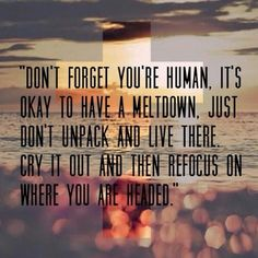 Don't unpack and live there. I tell myself this a lot.