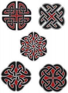 Set of celtic design elements: