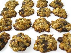 Skinny Oatmeal Dark Chocolate Chippers (Gluten Free) with Weight Watchers Points | Skinny Kitchen