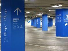 Estacionamientos Parque Arauco – WAYFINDING CONSULTORES