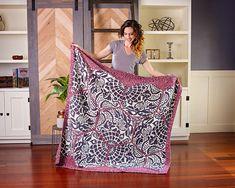 Ravelry: Gaudi Sidewalk Blanket pattern by Briana K Designs