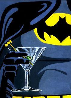 My hottest seller! Batman - After Hours Art Print