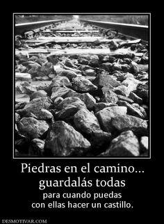 piedras en tu camino