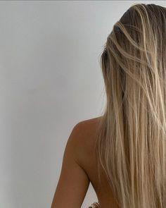 Summer Hairstyles, Pretty Hairstyles, Blonde Hair Inspiration, Blonde Hair Looks, Blonde Long Hair, Brunette To Blonde, Aesthetic Hair, Dream Hair, Bad Hair Day