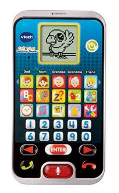 Product review for VTech Call and Chat Learning Phone -  Call & Chat Learning Phone Your child's first smart phone. Features 15 App buttons plus a special Chat button and a fun, chatty Parrot character who guides you through the activities and games. Among the App buttons, select from one of five different contacts to call (Mom, Dad, Grandma,... -  http://www.bestselleroutlet.net/product-review-for-vtech-call-and-chat-learning-phone/