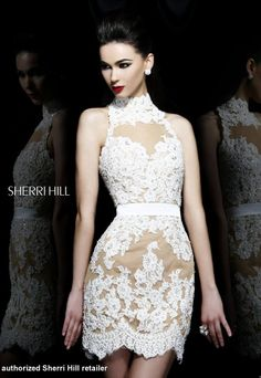 Sherri Hill 21213  , available in raeLynns.com Price is only $798!!! #womensfashion #highneckline
