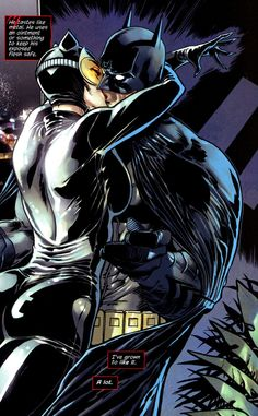 ✭ Catwoman and Batman by Guillem March
