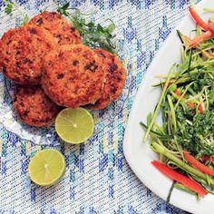 Chili salmon burgers recipe | The Detox Kitchen | Nutrition | Health & Self | RedOnline.co.uk