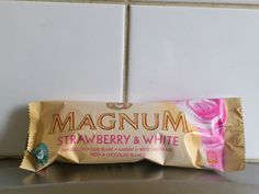"Magnum ""Strawberry & White"" Mmmmmmmmmmmmmm"