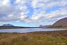 Fishing - Best Trout Lochs & Rivers in West Sutherland - Loch Borrolan. Trout Fishing, Fly Fishing, North Coast 500, Brown Trout, Rivers, West Coast, Scotland, Mountains, Travel
