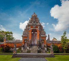 Taman Ayun Temple, Mengui, Bali by Alastair Dixon on Bali, Photography Tours, Land Scape, Big Ben, Entrance, Temple, Building, Travel, Beautiful