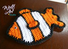 Crochet Fish Potholders