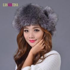 ==> [Free Shipping] Buy Best Fashion Winter Warm Ear Protector Lei Feng Cap Snow Cap Thickening Thermal Genuine Fox Fur Hat Winter Outdoor Warm Women Hats Online with LOWEST Price | 32809741072