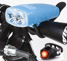 Easy to Mount Bike Lights Front and Back Best and Brightest LED Bicycle Light Yu Dong Bicycle Light Muti-Functional LED Bike Light Set