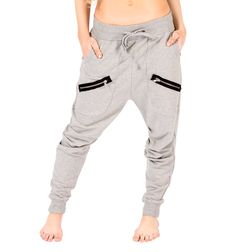 Discount Dance Supply Adult Multi Zipper Harem Pant...Perfect HipHop pants